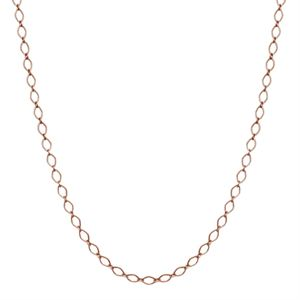 Picture of Nickel-Safe Rose Gold Sofia Chain: 16-19""